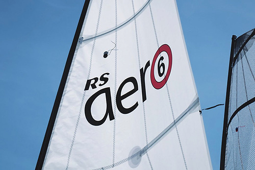 The RS Aero 6 sail