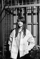 Françoise Hardy<br /> ORTF - PARIS<br /> 8/4/1966<br /> Credit : Chenz/DALLE