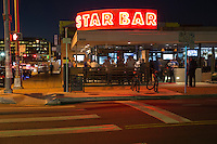 West 6TH Street Restaurant & Bar District of Downtown Austin - Stock Photo Image Gallery