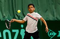 Wateringen, The Netherlands, March 9, 2018,  De Rijenhof , NOJK 12/16 years, Jip Langerhuizen (NED)<br /> Photo: www.tennisimages.com/Henk Koster