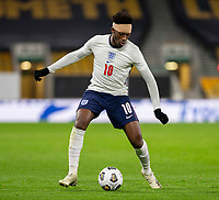 13th October 2020; Molineux Stadium, Wolverhampton, West Midlands, England; UEFA Under 21 European Championship Qualifiers, Group Three, England Under 21 versus Turkey Under 21; Callum Hudson Odoi of England with the ball at his feet