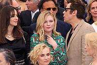 Monica BELLUCCI, Kirsten DUNST, Benicio Del TORO, Nicole KIDMAN et Diane KRUGER - PHOTOCALL DES PERSONNALITES AU 70EME ANNIVERSAIRE DU FESTIVAL DU FILM CANNES