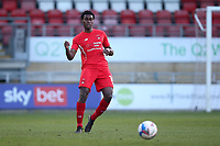 Tunji Akinola of Leyton Orient during Leyton Orient vs Forest Green Rovers, Sky Bet EFL League 2 Football at The Breyer Group Stadium on 23rd January 2021