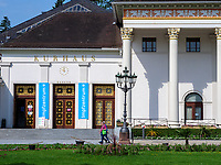 Impfzentrum im Kurhaus, Baden-Baden, Baden-Württemberg, Deutschland, Europa<br /> Kurhaus, Baden-Baden, Baden-Wuerttemberg, Germany, Europe