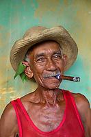 Trinidad, Cuba, 2009. Juan Bastida on his 83rd birthday, Trinidad, Cuba, 2009