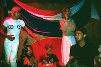Spain. Ibiza in the Balearic islands. Ibiza. Night life. Disco Amnesia. Gay men. © 1999 Didier Ruef