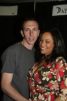 One Life To Live's Daphnee Duplaix and boyfriend Nino Balisteri appear at Big Apple Comic Con for autographs and photos on October 16 (and 17 & 18), 2009 at Pier 94, New York City, New York. (Photo by Sue Coflin/Max Photos)