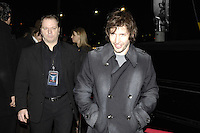 Toronto (ON), February 25, 2008 - <br /> <br /> James blunt  attends an after-hour party at C Lounge during The Spice Girls reunion tour in Toronto.