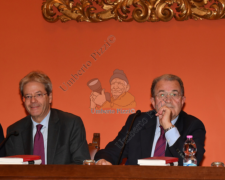 PAOLO GENTILONI E ROMANO PRODI