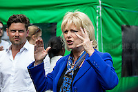 Anna Soubry (British Conservative Party politician, Member of Parliament for Broxtowe; she has been Minister for Small Business since the 2015 general election).<br /> <br /> London, 24/06/2016. The United Kingdom decided to leave the European Union. The British people voted (Turnout 72.2%): 51,9% to leave the EU (17,410,742 Votes) versus 48,1% to remain in the EU (16,141,241 Votes).<br /> <br /> For the full caption please find the 2-page PDF attached at the beginning of this story.<br /> <br /> For more information abou the result please clich here: http://www.bbc.co.uk/news/politics/eu_referendum/results