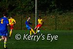 Yago Diaz Del Pie  Killorglin FC in action against Avenue in the FAI cup in Killorglin on Saturday
