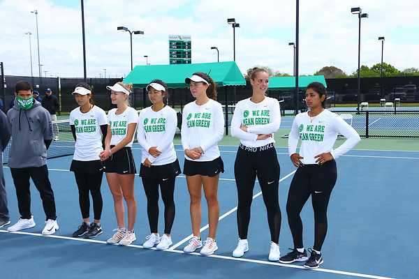 Denton, Texas, April 17: Mean Green Tennis v SMU on April 17, 2021 at NT Warranch Tennis Complex in Denton, Texas. Photo:Rick Yeatts Photography/ Rick Yeatts