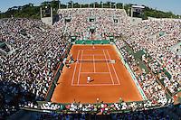 24-05-10, Tennis, France, Paris, Roland Garros, Court Suzanne Lenglen