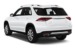 Car pictures of rear three quarter view of 2020 Mercedes Benz GLE 350 5 Door SUV Angular Rear