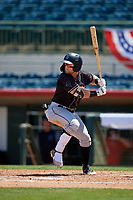 Jupiter Hammerheads Cameron Baranek (8) at bat during a Florida State League game against the Florida Fire Frogs on April 11, 2019 at Osceola County Stadium in Kissimmee, Florida.  Jupiter defeated Florida 2-0.  (Mike Janes/Four Seam Images)