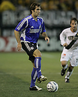 29 October 2005:  Brian Mullan of the Earthquakes in action against the LA Galaxy at Spartan Stadium in San Jose, California.   LA Galaxy defeated Earthquakes, 4-2 in two games.