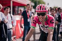 surprise 2nd finisher Michael Woods (CAN/Education First-Drapac)<br /> <br /> 104th Liège - Bastogne - Liège 2018 (1.UWT)<br /> 1 Day Race: Liège - Ans (258km)