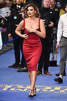 """Megan Barton Hanson<br /> arriving for the """"Extremely Wicked, Shockingly Evil And Vile"""" premiere at the Curzon Mayfair, London<br /> <br /> ©Ash Knotek  D3495  23/04/2019"""