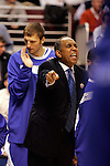 Kentucky head coach Tubby Smith.  Connecticut defeated Kentucky 87-83 in the second round of the NCAA Tournament  at the Wachovia Center in Philadelphia, Pennsylvania on March 19, 2006.