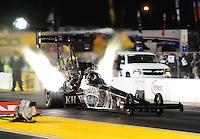 Jul. 29, 2011; Sonoma, CA, USA; NHRA top fuel dragster driver Larry Dixon during qualifying for the Fram Autolite Nationals at Infineon Raceway. Mandatory Credit: Mark J. Rebilas-