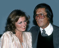 Phyllis George Bob Evans8919.JPG<br /> 1977 FILE PHOTO<br /> New York, NY<br /> Phyllis George Bob Evans at Studio 54<br /> Photo by Adam Scull-PHOTOlink.net<br /> ONE TIME REPRODUCTION RIGHTS ONLY<br /> 917-754-8588 - eMail: adam@photolink.net<br /> Facebook: https://www.facebook.com/adam.scull.94