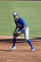Kansas City Royals Colton Frabasilio (37) during an instructional league game against the San Francisco Giants on October 23, 2015 at the Papago Baseball Facility in Phoenix, Arizona.  (Mike Janes/Four Seam Images)