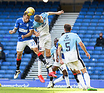 04.10.2020 Rangers v Ross County: Scott Arfield and  Coll Donaldson
