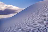 Gypsum sand dune, World's largest gypsum sand dune complex, New Mexico