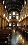 Transfiguration R.C. Church in Williamsburg Brooklyn, New York on April 5, 2009.