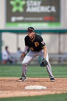 Pittsburgh Pirates first baseman Will Matthiessen (18) during a Florida Instructional League game against the Detroit Tigers on October 16, 2020 at Joker Marchant Stadium in Lakeland, Florida.  (Mike Janes/Four Seam Images)