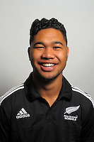 Wiseguy Faiane. The 2015 New Zealand Schools rugby union team headshots at NZ Sports Institute, Palmerston North, New Zealand on Friday, 18 September 2015. Photo: Dave Lintott / lintottphoto.co.nz