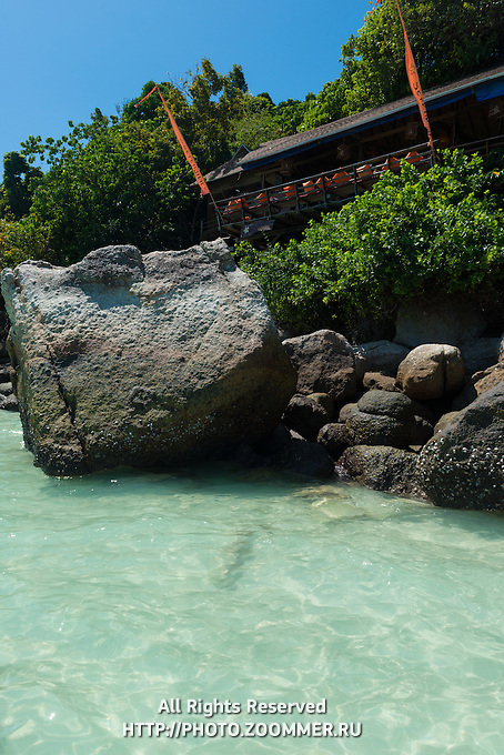 On The Rocks unusual restaurant on the trees, Ko Lipe, Thailand