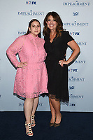 """NEW YORK CITY - JULY 26: Beanie Feldstein and Monica Lewinsky attend a special screening and dinner for the FX limited series """"Impeachment: American Crime Story"""" at The Pool on July 26, 2021 in New York City. (Photo by Frank Micelotta/FX/PictureGroup)"""