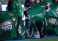 Photo: Richard Lane/Richard Lane Photography. London Irish v Racing Metro. Heineken Cup. 17/12/2011. London Irish flags.
