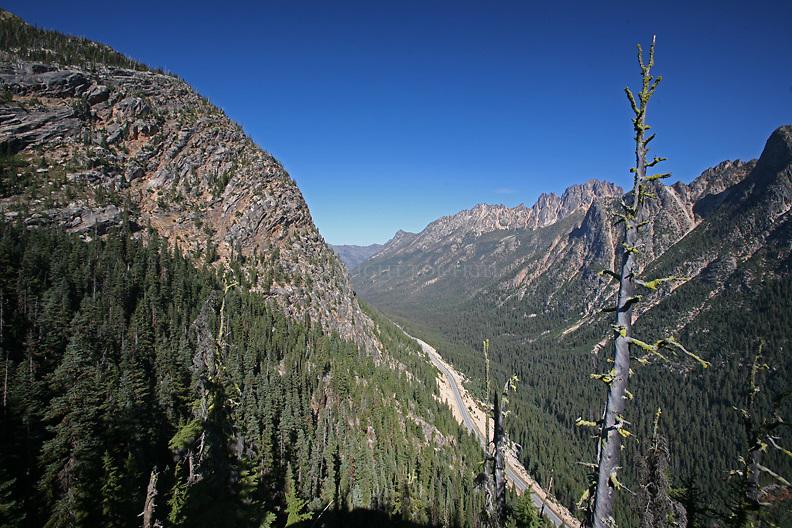 Washington Pass in the Cascade Mountains, Washington State
