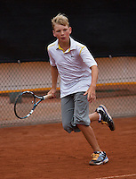 07-08-13, Netherlands, Rotterdam,  TV Victoria, Tennis, NJK 2013, National Junior Tennis Championships 2013, Joost van der Linden<br /> <br /> <br /> Photo: Henk Koster