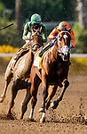 September 27, 2020: CZ Rocket with Flavien Prat wins the Santa Anita Sprint Championship at Santa Anita Park, in Arcadia, California on September 27, 2020.  Evers/Eclipse Sportswire/CSM