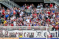 Chicago, IL - June 7, 2016: The U.S. Men's national team take on Costa Rica in the 2016 Copa America Centenario at Soldier Field.