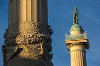 Europe,France,Ile-de-France,75011, Paris:  Place de la Nation, Les colonnes de Ledoux
