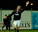 27/11/2004  Copyright Pic : James Stewart.File Name : jspa09_falkirk_v_ross_county.DANIEL MCBREEN CELEBRATES AFTER HE SCORES FALKIRK'S EQUALISER.....Payments to :.James Stewart Photo Agency 19 Carronlea Drive, Falkirk. FK2 8DN      Vat Reg No. 607 6932 25.Office     : +44 (0)1324 570906     .Mobile   : +44 (0)7721 416997.Fax         : +44 (0)1324 570906.E-mail  :  jim@jspa.co.uk.If you require further information then contact Jim Stewart on any of the numbers above.........
