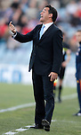 Getafe's coach Luis Garcia during La Liga Match. March 03, 2012. (ALTERPHOTOS/Alvaro Hernandez)