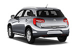Car pictures of rear three quarter view of 2016 Citroen C4-Aircross Feel-Edition 5 Door Suv Angular Rear