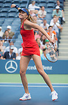 Daniela Hantuchova (SVK) wins against American Alison Riske, 6-3, 5-7, 6-2  at the US Open being played at USTA Billie Jean King National Tennis Center in Flushing, NY on September 2, 2013