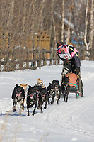 Ed Wood races in the 2008 Open North American Championship sled dog race, third heat, March 16, 2008.