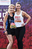 Helen Skelton and Kirsty Gallacher<br /> at the start of the London Marathon 2019, Greenwich, London<br /> <br /> ©Ash Knotek  D3496  28/04/2019