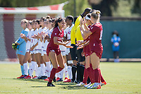 STANFORD, CA - SEPTEMBER 12: Avani Brandt before a game between Loyola Marymount University and Stanford University at Cagan Stadium on September 12, 2021 in Stanford, California.