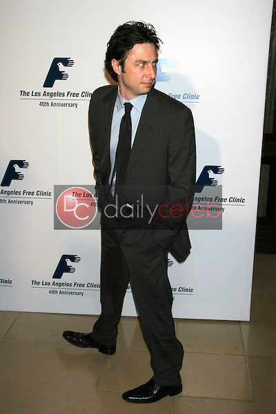 Zack Braff<br />at the Friends of the Los Angles Free Clinic Annual Dinner Gala. Beverly Hilton Hotel, Beverly Hills, CA. 11-20-06<br />Dave Edwards/DailyCeleb.com 818-249-4998