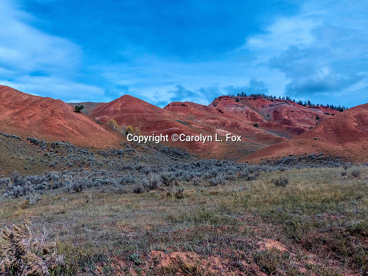 Red Hills are in Wyoming