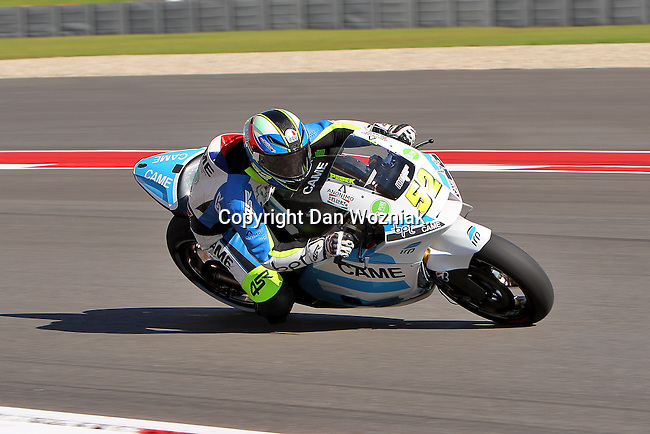 Lukas Pesek (52) in action during the Red Bull MotoGP of the Americas practice session at Circuit of the Americas racetrack in Austin,Texas. ..