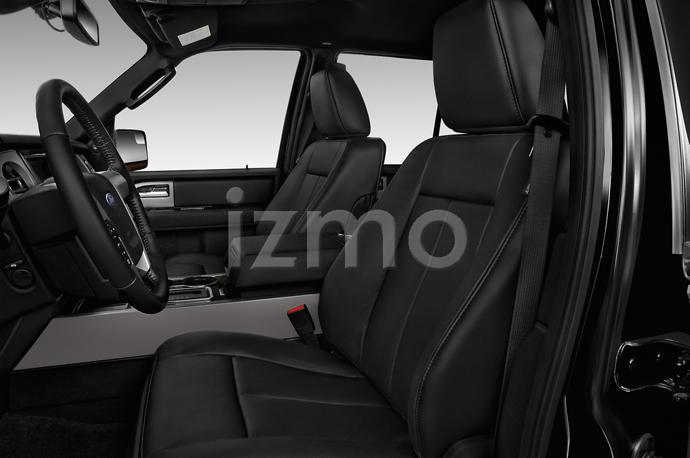 Front seat view of 2017 Ford Expedition Limited 5 Door SUV Front Seat  car photos